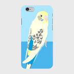 iPhoneケース セキセイインコ 4色ハルクイン【各機種対応】