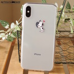 スヌーピーiPhoneケース SNOOPY BEAGLE HUG [iPhoneX/8/7/7Plus/6s/6sPlus/SE]