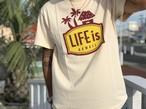 6/13(金)21時発売!LIFEis LANIKAI tシャツ(Sandbeige)¥2990+tax