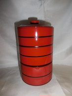 漆丸三段重 lacquer ware