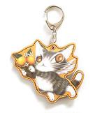 エスパーニャBABYキーホルダー オレンジ わちふぃーるど 猫のダヤン