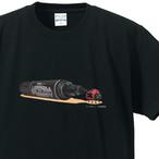 毎日てんとう虫 Tシャツ黒 オシャレなてんとう虫