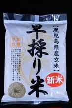 鹿児島県産玄米 早採り米1㎏