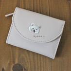 【モフズズ】ミニ財布(しろねこ)【猫柄 白猫 490-855】