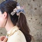 <mini>Basic~彩る咲き編みシュシュ