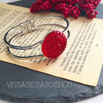 No.25-Vintage.cabochon-bangle