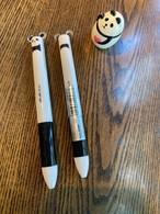 パンダの2色ボールペン