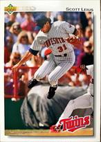 MLBカード 92UPPERDECK Scott Leius #313 TWINS