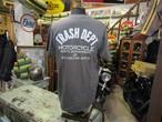 TRASH DEPT オリジナルロゴ Tシャツ / ダークグレー