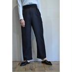 【RehersalL】twill gurkha pants(black) /【リハーズオール】ツイルグルカパンツ(ブラック)