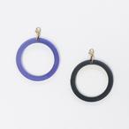 アクリル/片耳用幾何学ピアスイヤリング/取り付けパーツ/E-6_P_RW