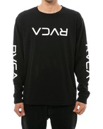 RVCA メンズ BIG FLIP RVCA LS TEE ロングスリーブTシャツ AJ042-054