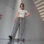 【即納】韓国ファッション レオパード柄Pants