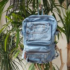 【残り1点】Denim Re-make Backpack《BLUE》
