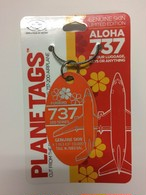 PLANE TAGS/BOEING737-200 アロハ航空