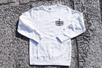 【star logo white sweat】