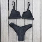 Bikini♡フロントカットアウトビキニ ブラック