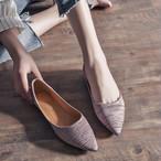 【shoes】合わせやすい超売れ筋歩きやすいフラットシューズ 22668573