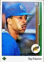 MLBカード 89UPPERDECK Rey Palacios #021 ROYALS ルーキーカード