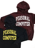 【残りわずか】PERSONAL COMPUTER UNIVERSITY ECO FLEECE PULLOVER HOODED