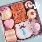 父の日クッキー缶(大)