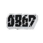 0867 / Patch / Blockbuster / Logo / Black × White