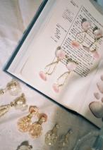 桜貝と淡水パール
