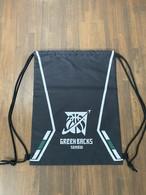 【デザインサンプル】川内GREENBACKS(U12・男子)  ナップサック