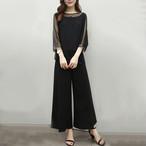 【set】Fashion solid color tulle female set