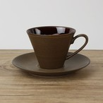 【SET-0008】 カップ&ソーサー 磁器 茶