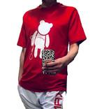 【SKANDHAL】VENEZIA クマ Tシャツ 【レッド】【新作】イタリアンウェア【送料無料】《M&W》