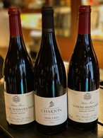 【セット割引】ブルゴーニュ赤ワインお得3本セット(計3本)14年ヴォーヌロマネ、13年コートドニュイヴィラージュ、17年メルキュレイ(ドメーヌシャルトン)