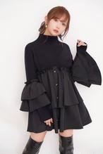 Knit Frill Dress