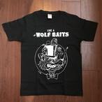 ウルフベイツTシャツ《Black》