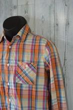 レディース チェックシャツ (サイズF)RankB