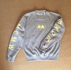 "McMamWell print sweat ""gray"""