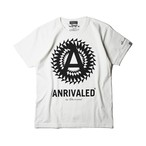 "ANRIVALED by UNRIVALED ""CA-T-SHIRT"" WHITE"