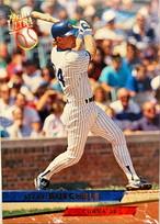 MLBカード 93FLEER Steve Buechele #015 CUBS