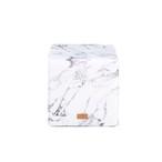 スツール / White Marble 40×40×40cm (ホワイトマーブル)  / WOOUF! BARCELONA (ウーフバルセロナ)
