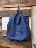 70-80's unknown denim tote bag