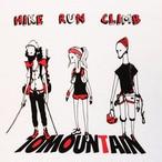 HIKE RUN CLIMB コットン風ポリ ホワイトカラー