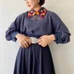 (PAL) flower collar blouse