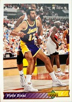 NBAカード 92-93UPPERDECK Vlade Divac #199 LAKERS