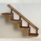 階段 飾り棚 アンティーク BREA-1504