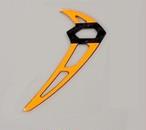 ◆OSHM2035  M2カーボン垂直尾翼  1個 カラー / イエロー、オレンジ、ブルー(ネオヘリでM2購入者のみ購入可)