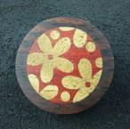 wooden inlaid charm IB-016-EB