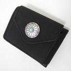 <送料無料>5color☆ ウォレット 西海岸 surf コンチョ付き 三つ折り財布 ユニセックス