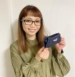 8周年記念♥多機能ポーチ(ペン/眼鏡ケース)【ネイビー】