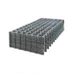 ワイヤーメッシュ 溶接金網(Φ5.0 100×100 1m×2m 100枚入)