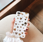【オーダー商品】 Mirror love heart iPhone case